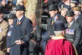 March Past, Remembrance Sunday at the Cenotaph 2016: A15 The King's Own Royal Border Regimen. Cenotaph, Whitehall, London SW1, London, Greater London, United Kingdom, on 13 November 2016 at 12:40, image #135