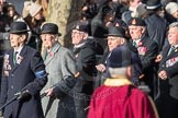 March Past, Remembrance Sunday at the Cenotaph 2016: A16 The Staffordshire Regiment. Cenotaph, Whitehall, London SW1, London, Greater London, United Kingdom, on 13 November 2016 at 12:40, image #152