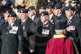 March Past, Remembrance Sunday at the Cenotaph 2016: A16 The Staffordshire Regiment. Cenotaph, Whitehall, London SW1, London, Greater London, United Kingdom, on 13 November 2016 at 12:41, image #156