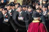March Past, Remembrance Sunday at the Cenotaph 2016: A16 The Staffordshire Regiment. Cenotaph, Whitehall, London SW1, London, Greater London, United Kingdom, on 13 November 2016 at 12:41, image #157