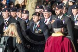 March Past, Remembrance Sunday at the Cenotaph 2016: A16 The Staffordshire Regiment. Cenotaph, Whitehall, London SW1, London, Greater London, United Kingdom, on 13 November 2016 at 12:41, image #158
