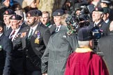 March Past, Remembrance Sunday at the Cenotaph 2016: A16 The Staffordshire Regiment. Cenotaph, Whitehall, London SW1, London, Greater London, United Kingdom, on 13 November 2016 at 12:41, image #159