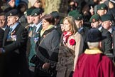 March Past, Remembrance Sunday at the Cenotaph 2016: A17 Rifles Regimental Association. Cenotaph, Whitehall, London SW1, London, Greater London, United Kingdom, on 13 November 2016 at 12:41, image #162