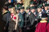 March Past, Remembrance Sunday at the Cenotaph 2016: A17 Rifles Regimental Association. Cenotaph, Whitehall, London SW1, London, Greater London, United Kingdom, on 13 November 2016 at 12:41, image #163