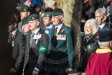 March Past, Remembrance Sunday at the Cenotaph 2016: A17 Rifles Regimental Association. Cenotaph, Whitehall, London SW1, London, Greater London, United Kingdom, on 13 November 2016 at 12:41, image #165