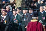 March Past, Remembrance Sunday at the Cenotaph 2016: A20 King's Royal Rifle Corps Association. Cenotaph, Whitehall, London SW1, London, Greater London, United Kingdom, on 13 November 2016 at 12:41, image #181