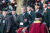 March Past, Remembrance Sunday at the Cenotaph 2016: A20 King's Royal Rifle Corps Association. Cenotaph, Whitehall, London SW1, London, Greater London, United Kingdom, on 13 November 2016 at 12:41, image #182