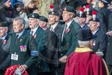 March Past, Remembrance Sunday at the Cenotaph 2016: A21 Fusiliers Association Lancashire. Cenotaph, Whitehall, London SW1, London, Greater London, United Kingdom, on 13 November 2016 at 12:41, image #183