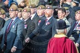 March Past, Remembrance Sunday at the Cenotaph 2016: A22 Irish Guards Association - Republic of Ireland Branch. Cenotaph, Whitehall, London SW1, London, Greater London, United Kingdom, on 13 November 2016 at 12:41, image #190