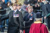 March Past, Remembrance Sunday at the Cenotaph 2016: A23 Light Infantry Associati. Cenotaph, Whitehall, London SW1, London, Greater London, United Kingdom, on 13 November 2016 at 12:41, image #193
