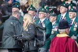 March Past, Remembrance Sunday at the Cenotaph 2016: A24 Regimental Association of the Royal Irish Regiment. Cenotaph, Whitehall, London SW1, London, Greater London, United Kingdom, on 13 November 2016 at 12:41, image #194