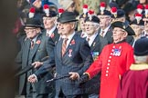 March Past, Remembrance Sunday at the Cenotaph 2016: A25 Royal Northumbaland Fusiliers All Ranks Club. Cenotaph, Whitehall, London SW1, London, Greater London, United Kingdom, on 13 November 2016 at 12:41, image #205