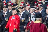 March Past, Remembrance Sunday at the Cenotaph 2016: A25 Royal Northumbaland Fusiliers All Ranks Club. Cenotaph, Whitehall, London SW1, London, Greater London, United Kingdom, on 13 November 2016 at 12:42, image #206