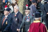 March Past, Remembrance Sunday at the Cenotaph 2016: A25 Royal Northumbaland Fusiliers All Ranks Club. Cenotaph, Whitehall, London SW1, London, Greater London, United Kingdom, on 13 November 2016 at 12:42, image #210