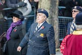 March Past, Remembrance Sunday at the Cenotaph 2016: A29 Queens Own Buffs Association London Buffs Branch. Cenotaph, Whitehall, London SW1, London, Greater London, United Kingdom, on 13 November 2016 at 12:42, image #226