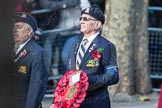 March Past, Remembrance Sunday at the Cenotaph 2016: A29 Queens Own Buffs Association London Buffs Branch. Cenotaph, Whitehall, London SW1, London, Greater London, United Kingdom, on 13 November 2016 at 12:42, image #227