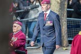 March Past, Remembrance Sunday at the Cenotaph 2016: A30 Queen's Royal Hussars (The Queen's Own & Royal Irish. Cenotaph, Whitehall, London SW1, London, Greater London, United Kingdom, on 13 November 2016 at 12:42, image #228