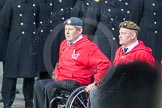 March Past, Remembrance Sunday at the Cenotaph 2016: A35 British Ex-Services Wheelchair Sports Association. Cenotaph, Whitehall, London SW1, London, Greater London, United Kingdom, on 13 November 2016 at 12:43, image #249