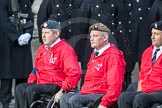 March Past, Remembrance Sunday at the Cenotaph 2016: A35 British Ex-Services Wheelchair Sports Association. Cenotaph, Whitehall, London SW1, London, Greater London, United Kingdom, on 13 November 2016 at 12:43, image #250