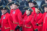 March Past, Remembrance Sunday at the Cenotaph 2016: A36 Royal Hospital Chelsea. Cenotaph, Whitehall, London SW1, London, Greater London, United Kingdom, on 13 November 2016 at 12:44, image #271