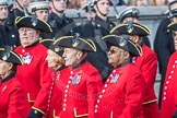 March Past, Remembrance Sunday at the Cenotaph 2016: A36 Royal Hospital Chelsea. Cenotaph, Whitehall, London SW1, London, Greater London, United Kingdom, on 13 November 2016 at 12:44, image #273
