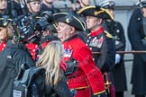 March Past, Remembrance Sunday at the Cenotaph 2016: A36 Royal Hospital Chelsea. Cenotaph, Whitehall, London SW1, London, Greater London, United Kingdom, on 13 November 2016 at 12:44, image #275
