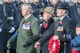March Past, Remembrance Sunday at the Cenotaph 2016: A37 Queen Alexandra's Hospital Home for Disabled Ex-Servicemen & Women. Cenotaph, Whitehall, London SW1, London, Greater London, United Kingdom, on 13 November 2016 at 12:44, image #277