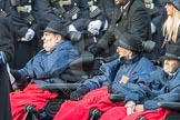 March Past, Remembrance Sunday at the Cenotaph 2016: A37 Queen Alexandra's Hospital Home for Disabled Ex-Servicemen & Women. Cenotaph, Whitehall, London SW1, London, Greater London, United Kingdom, on 13 November 2016 at 12:44, image #278