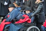 March Past, Remembrance Sunday at the Cenotaph 2016: A37 Queen Alexandra's Hospital Home for Disabled Ex-Servicemen & Women. Cenotaph, Whitehall, London SW1, London, Greater London, United Kingdom, on 13 November 2016 at 12:44, image #281