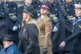 March Past, Remembrance Sunday at the Cenotaph 2016: A37 Queen Alexandra's Hospital Home for Disabled Ex-Servicemen & Women. Cenotaph, Whitehall, London SW1, London, Greater London, United Kingdom, on 13 November 2016 at 12:44, image #285