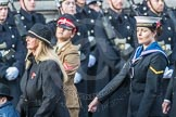 March Past, Remembrance Sunday at the Cenotaph 2016: A37 Queen Alexandra's Hospital Home for Disabled Ex-Servicemen & Women. Cenotaph, Whitehall, London SW1, London, Greater London, United Kingdom, on 13 November 2016 at 12:44, image #286