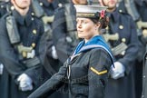 March Past, Remembrance Sunday at the Cenotaph 2016: A37 Queen Alexandra's Hospital Home for Disabled Ex-Servicemen & Women. Cenotaph, Whitehall, London SW1, London, Greater London, United Kingdom, on 13 November 2016 at 12:44, image #287