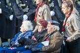 March Past, Remembrance Sunday at the Cenotaph 2016: A38 The Royal Star & Garter Homes. Cenotaph, Whitehall, London SW1, London, Greater London, United Kingdom, on 13 November 2016 at 12:44, image #291