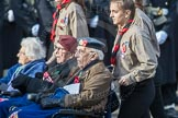 March Past, Remembrance Sunday at the Cenotaph 2016: A38 The Royal Star & Garter Homes. Cenotaph, Whitehall, London SW1, London, Greater London, United Kingdom, on 13 November 2016 at 12:44, image #292