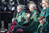March Past, Remembrance Sunday at the Cenotaph 2016: B01 Women's Royal Army Corps Association. Cenotaph, Whitehall, London SW1, London, Greater London, United Kingdom, on 13 November 2016 at 12:45, image #309