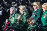 March Past, Remembrance Sunday at the Cenotaph 2016: B01 Women's Royal Army Corps Association. Cenotaph, Whitehall, London SW1, London, Greater London, United Kingdom, on 13 November 2016 at 12:45, image #310