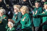 March Past, Remembrance Sunday at the Cenotaph 2016: B01 Women's Royal Army Corps Association. Cenotaph, Whitehall, London SW1, London, Greater London, United Kingdom, on 13 November 2016 at 12:45, image #311
