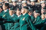 March Past, Remembrance Sunday at the Cenotaph 2016: B01 Women's Royal Army Corps Association. Cenotaph, Whitehall, London SW1, London, Greater London, United Kingdom, on 13 November 2016 at 12:45, image #314