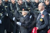 March Past, Remembrance Sunday at the Cenotaph 2016: B02 Reconnaissance Corps. Cenotaph, Whitehall, London SW1, London, Greater London, United Kingdom, on 13 November 2016 at 12:45, image #341