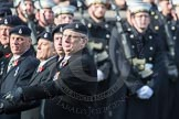 March Past, Remembrance Sunday at the Cenotaph 2016: B04 Royal Artillery Association. Cenotaph, Whitehall, London SW1, London, Greater London, United Kingdom, on 13 November 2016 at 12:45, image #364
