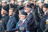 March Past, Remembrance Sunday at the Cenotaph 2016: B04 Royal Artillery Association. Cenotaph, Whitehall, London SW1, London, Greater London, United Kingdom, on 13 November 2016 at 12:45, image #366