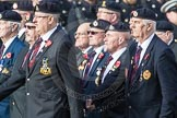 March Past, Remembrance Sunday at the Cenotaph 2016: B05 The Royal Engineers Association. Cenotaph, Whitehall, London SW1, London, Greater London, United Kingdom, on 13 November 2016 at 12:46, image #378