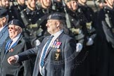March Past, Remembrance Sunday at the Cenotaph 2016: B07 Royal Signals Association. Cenotaph, Whitehall, London SW1, London, Greater London, United Kingdom, on 13 November 2016 at 12:47, image #422