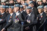March Past, Remembrance Sunday at the Cenotaph 2016: B08 Army Air Corps Veterans Association. Cenotaph, Whitehall, London SW1, London, Greater London, United Kingdom, on 13 November 2016 at 12:47, image #427