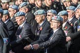 March Past, Remembrance Sunday at the Cenotaph 2016: B08 Army Air Corps Veterans Association. Cenotaph, Whitehall, London SW1, London, Greater London, United Kingdom, on 13 November 2016 at 12:47, image #428