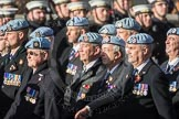 March Past, Remembrance Sunday at the Cenotaph 2016: B08 Army Air Corps Veterans Association. Cenotaph, Whitehall, London SW1, London, Greater London, United Kingdom, on 13 November 2016 at 12:47, image #431