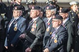 March Past, Remembrance Sunday at the Cenotaph 2016: B09 Royal Army Service Corps & Royal Corps of Transport Association (RASC). Cenotaph, Whitehall, London SW1, London, Greater London, United Kingdom, on 13 November 2016 at 12:47, image #451