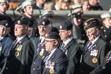 March Past, Remembrance Sunday at the Cenotaph 2016: B09 Royal Army Service Corps & Royal Corps of Transport Association (RASC). Cenotaph, Whitehall, London SW1, London, Greater London, United Kingdom, on 13 November 2016 at 12:47, image #452