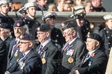 March Past, Remembrance Sunday at the Cenotaph 2016: B09 Royal Army Service Corps & Royal Corps of Transport Association (RASC). Cenotaph, Whitehall, London SW1, London, Greater London, United Kingdom, on 13 November 2016 at 12:47, image #453