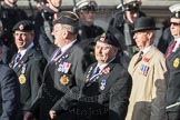 March Past, Remembrance Sunday at the Cenotaph 2016: B09 Royal Army Service Corps & Royal Corps of Transport Association (RASC). Cenotaph, Whitehall, London SW1, London, Greater London, United Kingdom, on 13 November 2016 at 12:47, image #454
